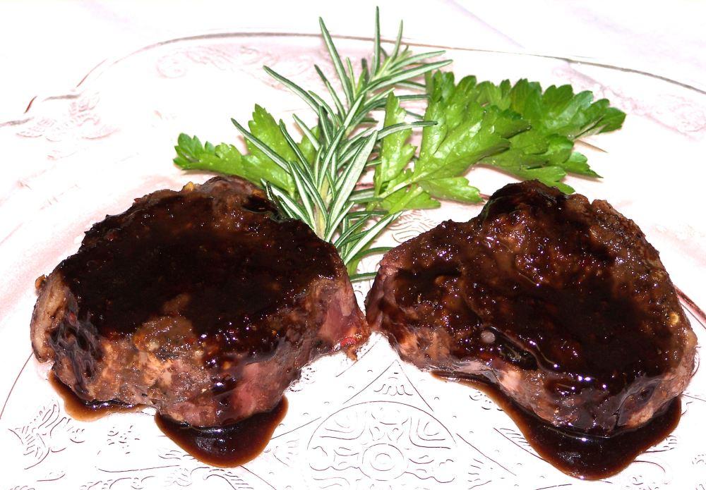 Pan Roasted Lamb Chops with Pan Sauce