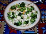Cauliflower and Broccoli Salad