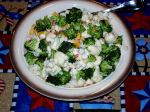 Cauliflower and Broccoli Salad