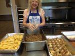 Lea Vaughn Lea making Baked Pasta Beef Tacos