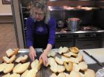 Lea prepares bolillo buns