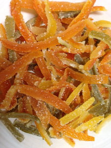 Candied Citrus Rinds