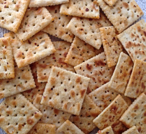 Past's Spicey Saltine Crackers