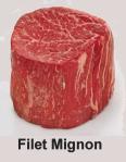 Filet Mignon Steak, uncooked