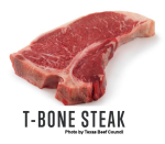T-Bone Steak, uncooked