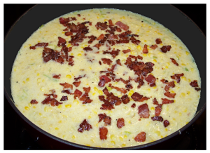 Texas Style Creamed Corn with Bacon