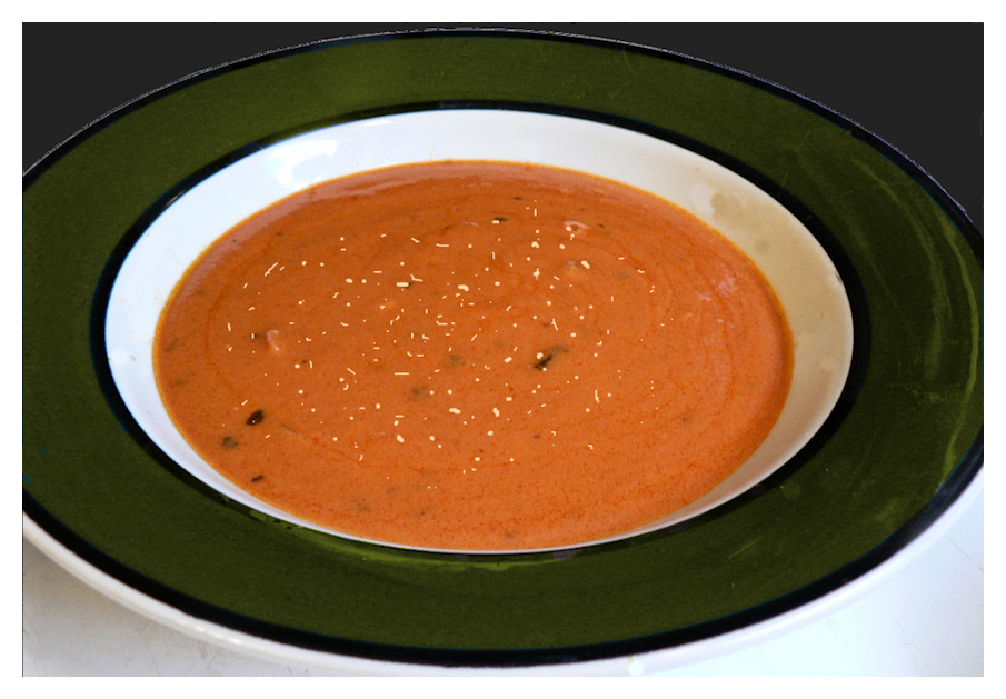 Tomato Soup with Parmesan