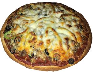 5X5 Super Deluxe Pizza