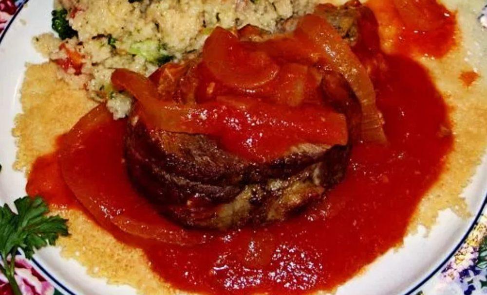 Beef Parmesan Braciole