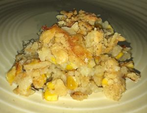 Creamed Sweet Corn Casserole Serving