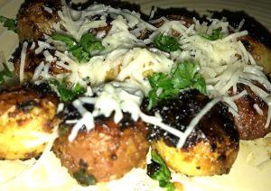 Roast Parmesan Baby Potatoes