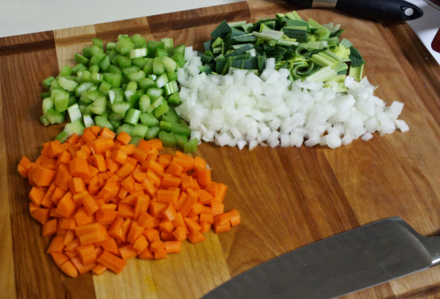 Green Onion Mirepoix