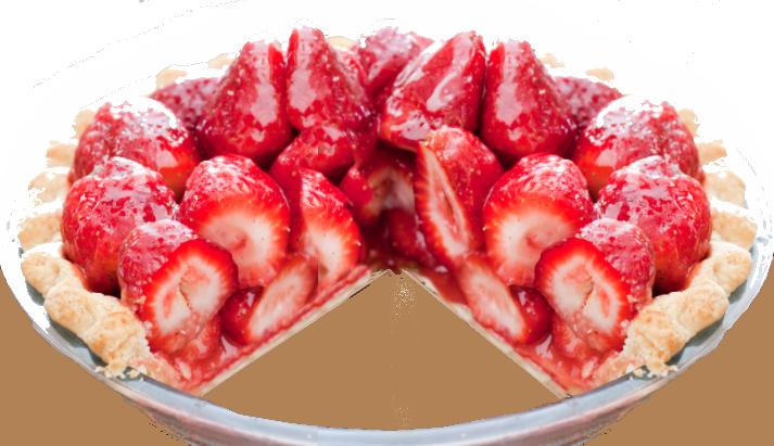 Strawberry Refrigerator Pie