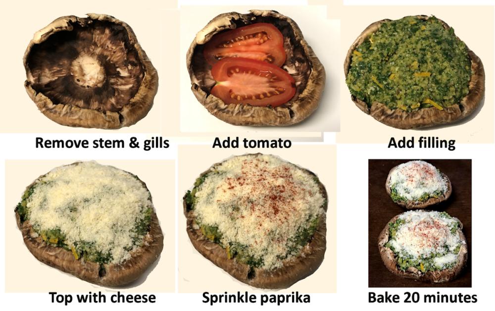 Portobello Mushroom Process