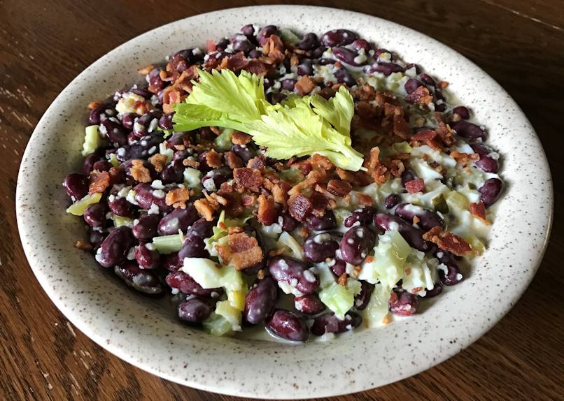 Chilled Red Kidney Bean Salad